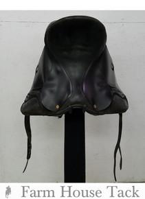 "Black Country Eden 17.5"" Used Dressage Saddle"