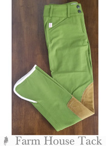 2019 Tailored Sportsman 1967 LR FZ Trophy Vintage Breeches Spanish Olive/Tan