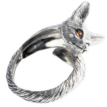 Arthur Court Pewter Fox Napkin Ring