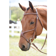 Huntley Fancy Stitch Figure 8 Bridle