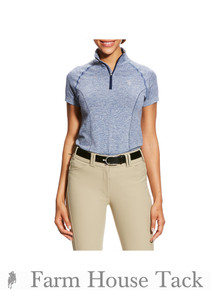 Ariat Women's Odyssey Seamless 1/4 Zip Shirt
