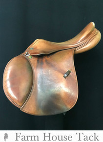 "Prestige Nona Garson 17"" Used Close Contact Saddle"