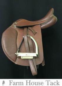 """HDR Club Pony 15"""" Used Close Contact Saddle"""