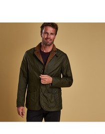Barbour Men's Lightweight Sander Waxed Cotton Jacket