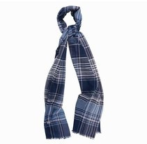 Barbour Blue and Pink Scarf
