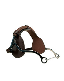 Metalab Hackamore With Padded Leather Noseband