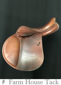 "Devoucoux Biarritz D3D 17.5"" Used Close Contact Saddle"