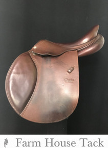 "CWD SE02 16.5"" Used Close Contact Saddle"