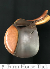 "Pessoa A/O 16.5"" Used Close Contact Saddle"