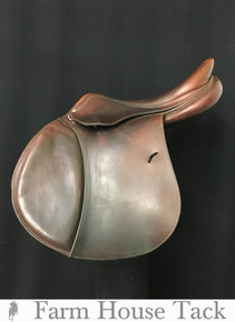 "Antares Jump 17.5"" Used Close Contact Saddle"