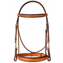 "Edgewood 1"" Fancy Stitched Raised Bridle"