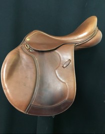 "Pessoa Gen X Heritage Pro 16.5"" Used Close Contact Saddle"