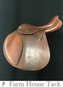 "Pessoa Legacy XP3 17"" Used Close Contact Saddle"