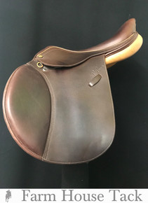"Pessoa Rodrigo XCH 16.5"" Used Close Contact Saddle"