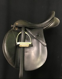 "Rimell Saddlery 18"" Used All Purpose Saddle"