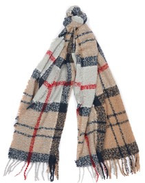 Barbour Ladies Boucle Scarf