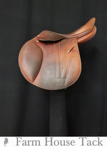 "Butet Premium 16.5"" Used Close Contact Saddle"