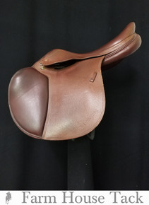 "Prestige Eventer 18"" Jump Close Contact Used Saddle"