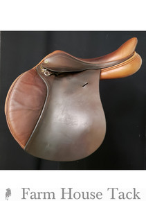 "Barnsby Schockemohle 17"" Used Close Contact Saddle"