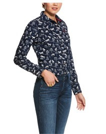 Ariat Women's Shadow Pasture Long Sleeve Shirt