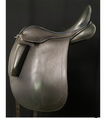 "Black Country Optima 18"" Used Dressage Saddle"