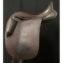 "Black Country Carlow 17 1/2"" Used Dressage Saddle"