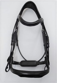 Red Barn Arena Ergonomic Weymouth Dressage Bridle
