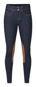Kerrits Ladies Stretch Denim Knee Patch Breech