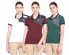 George H Morris Hunter Short Sleeve Polo Shirts