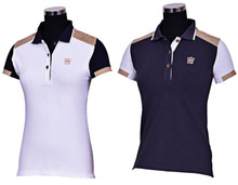 George Morris Collection Ladies Reserve Short Sleeve Polo Shirt