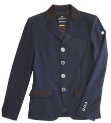 Equiline Mens Albert Show Coat-Blue