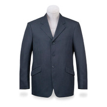R.J. Classics Men's National Jacket-Navy Herringbone