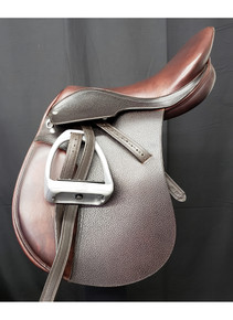 "Pegasus by Kieffer 18"" Used Close Contact Saddle"