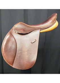 "Pessoa Rodrigo GenX 17 1/2"" Used Close Contact Saddle"
