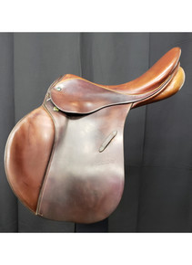 "Stubben Siegfried 18"" Used All Purpose Saddle"