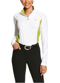 Ariat TriFactor Womens' Baselayer 1/4 Zip Shirt
