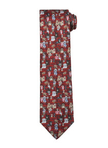 "Essex ""Danny & Ron's Rescue in the Theater"" Men's Necktie"
