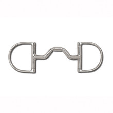 Myler Dee without Hooks with Stainless Steel Ported Barrel MB 33