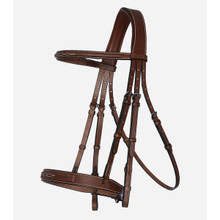 Arion Hunter Bridle With Fancy Stitching