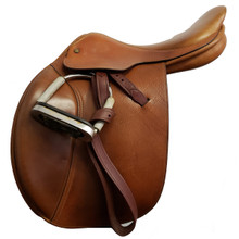 """Crosby Centennial 16-1/2"""" Used Close Contact Saddle"""