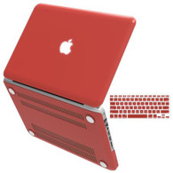 "Macbook Pro 15"" Retina Shell/Keyboard Cover Kit (Red)"