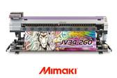 "Mimaki JV34-260 Solvent/Sublimation Printer - 104"""