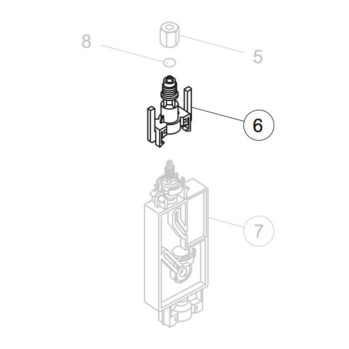Damper Joint Valve Assy for Mimaki JV33/CJV30/JV5 (M006954