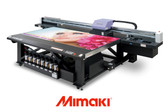 Mimaki JFX200-2513 Printer 51″ x 98″ – Wide Format UV Curable Flatbed Printer