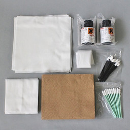 F-200/LF-200 Cleaning Kit for Mimaki UV Printers - 100ml bottle (Mimaki part number SPC-0569) Compatible with most Mimaki UV Cured Printers and Inks. Includes swabs and wipes.