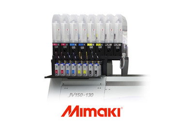 The MBIS3 (OPT-J0364) is a bulk ink system for Mimaki printers which allows the use of de-gassed 2 Liter bags of ink. Works with Mimaki JV33, JV34, JV150, CJV150, JV300, CJV300 and more. Run genuine Mimaki SS21 and SB54 inks at prices similar to after-market inks.