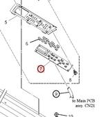 KEY PCB ASSY (E104057)
