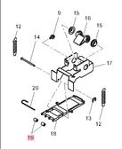 Pinch Roller (Epdm) (M700322)