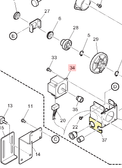 Step Motor (56 Square) (E301109)