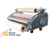 "Royal Sovereign RSL-2702S - 27"" Thermal (Dual Hot & Cold) Laminator - (Table Top)"